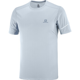 Salomon Agile Camiseta Manga Corta Hombre, ashley blue